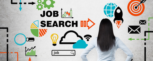 job search planning, research, adverts, headhunting and interviews all lead to targeting the right company and the right job