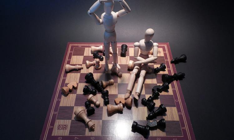 failure at a chess match