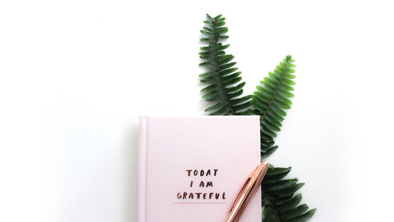 Stay positive with gratitude