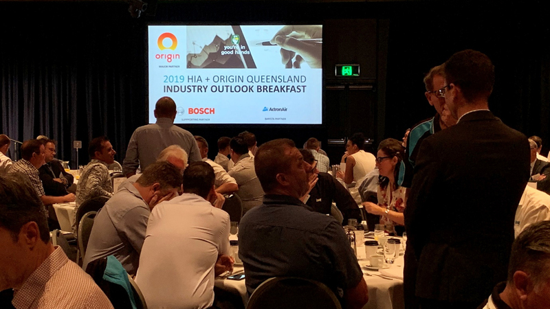 HIA residential construction builders industry breakfast