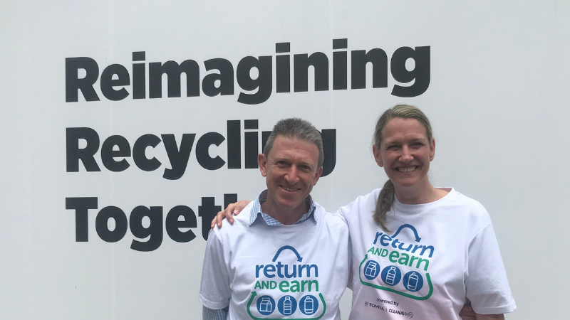 TOMRA on Global Recycling Day