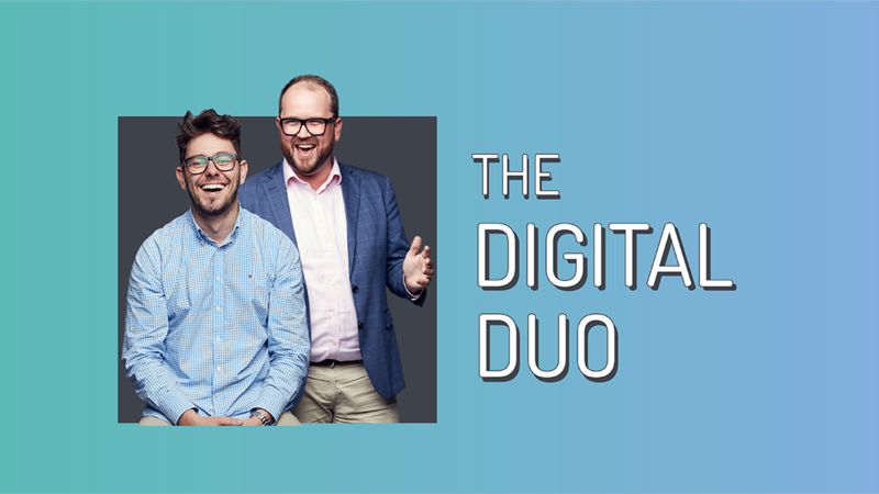 The Digital Duo - Brett Knowles and Tom Bayly