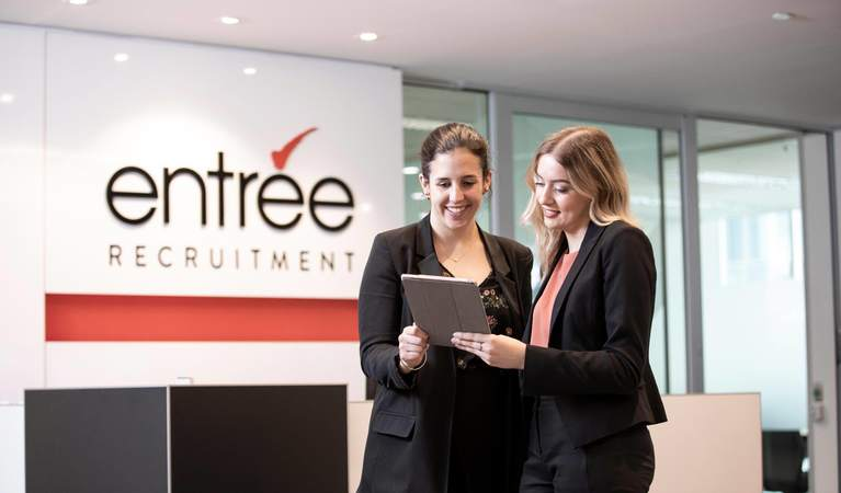 Entree Recruitment Business and Executive Support Staff