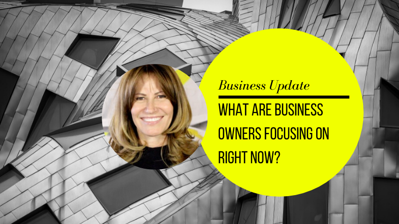 What are business owners focusing on right now?