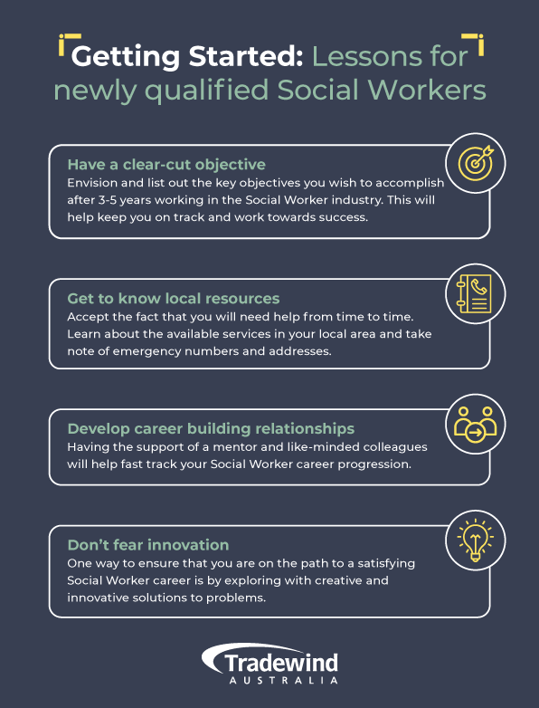 Getting Started: Lessons for newly qualified Social Workers