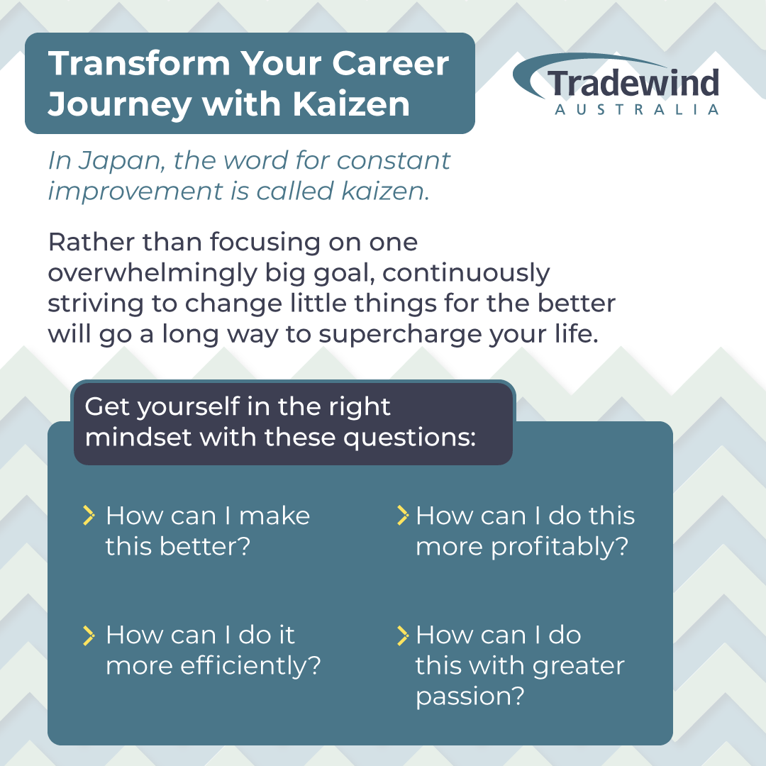 Transform Your Career Journey with Kaizen