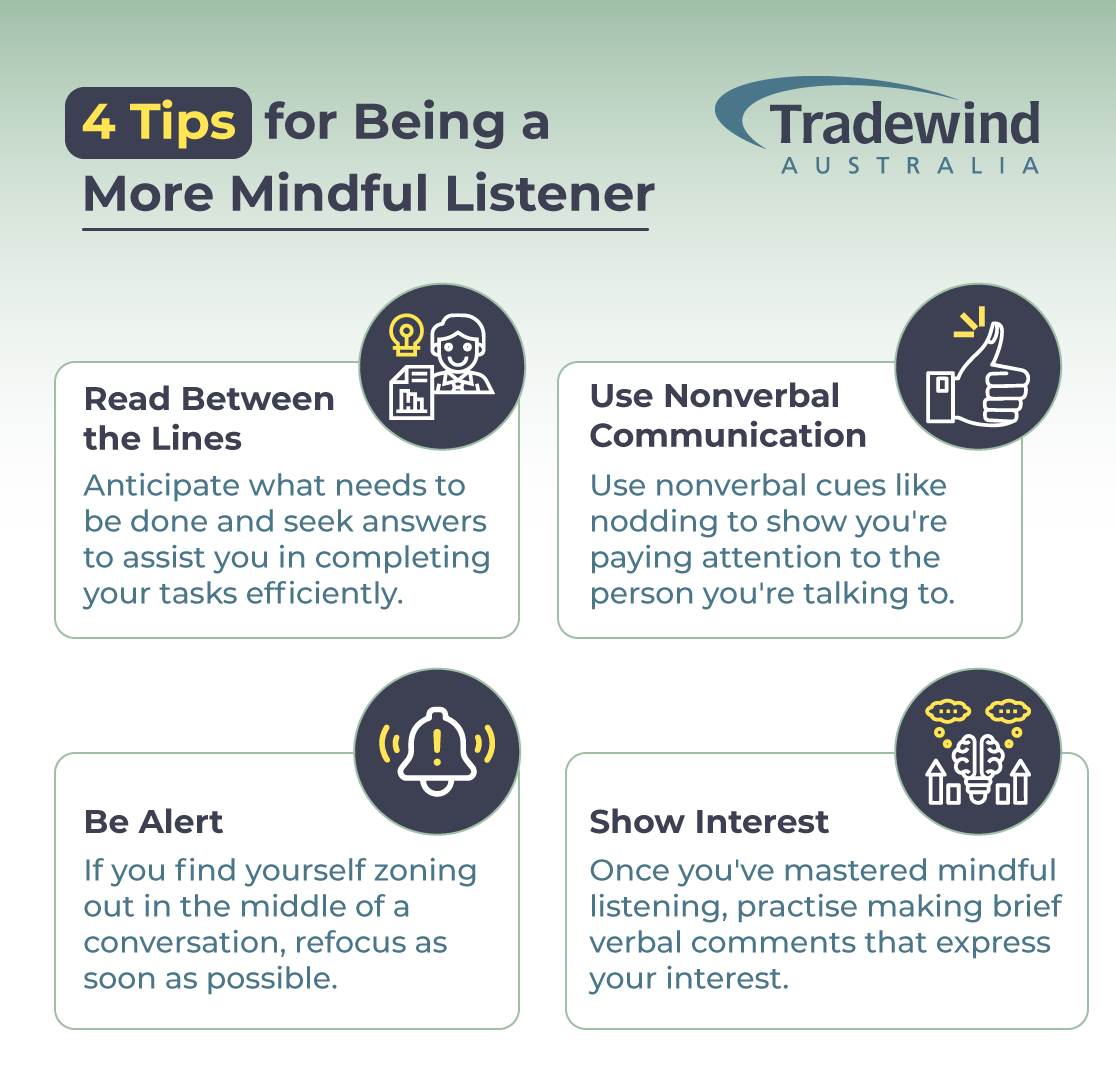 4 Tips for Being a More Mindful Listener
